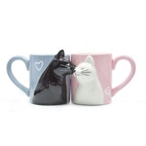 Luxury-Kiss-Cat-Cups-Couple-Ceramic-Mug-Milk-Coffee-Tea-Anniversary-Valentines