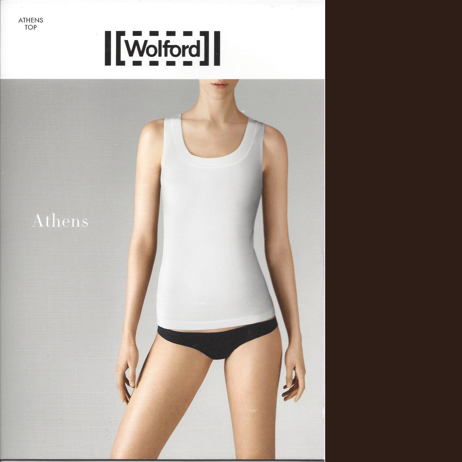 SALE • Wolford Athens Top - S - mocca  ... Elegantes Top mit femininem Dekolleté