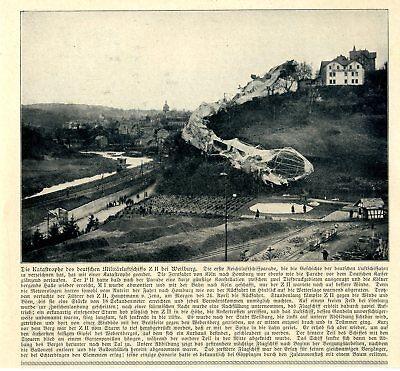 Die Erste Reichsluftfahrtparade Endet Mit Absturz Von Z Ii Bei Weilheim Von 1910 To Assure Years Of Trouble-Free Service Sammeln & Seltenes