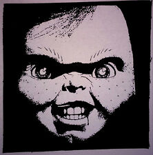 Child's Play / Chucky - PATCH canvas screen print HORROR - Slasher Good Guys 80s