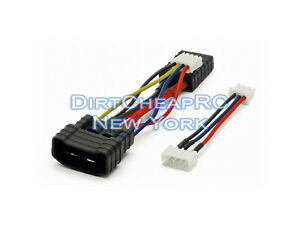 Charge-Cable-Adapter-TRAXXAS-ID-Male-to-Traxxas-Female-2S-3S-JST-XH-LiPo-Balance