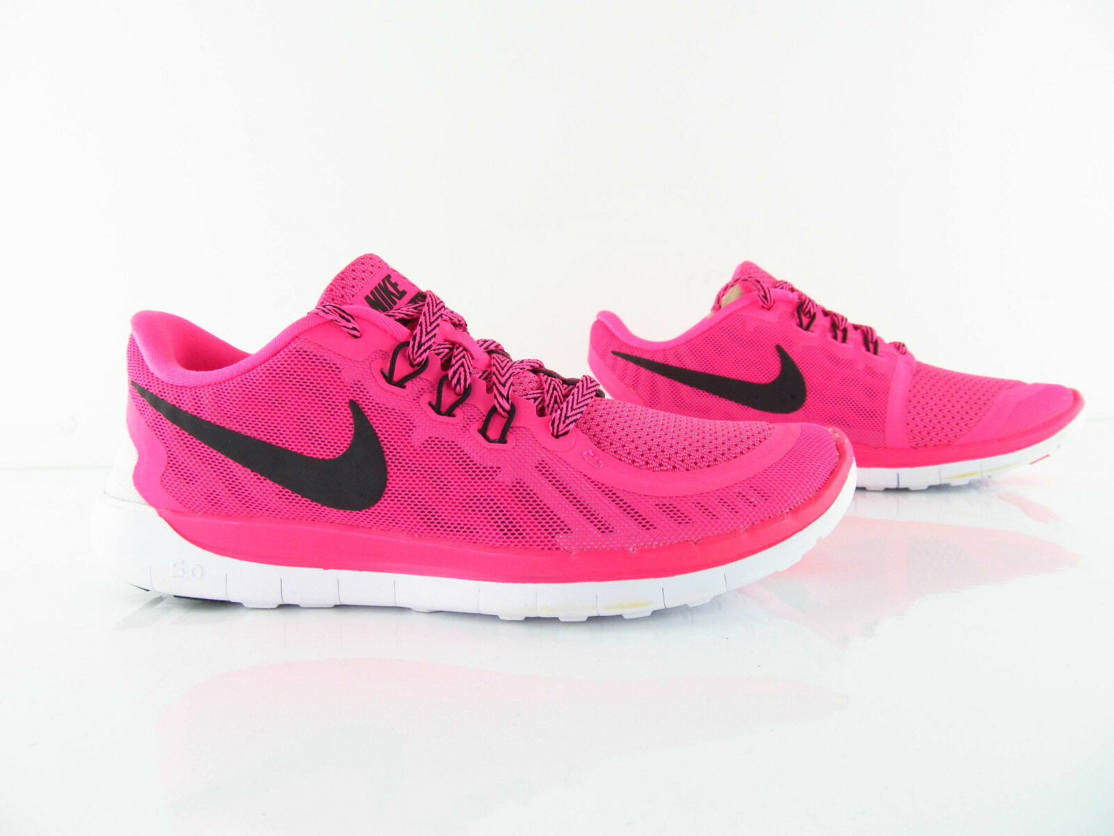 Nike Free 5.0 Pink Pow WEISS Barefoot Running New Eur_ 37.5