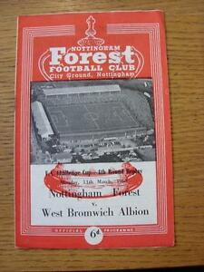 11031963 Nottingham Forest v West Bromwich Albion FA Cup Replay   Any fault - <span itemprop=availableAtOrFrom>Birmingham, United Kingdom</span> - Returns accepted within 30 days after the item is delivered, if goods not as described. Buyer assumes responibilty for return proof of postage and costs. Most purchases from business s - Birmingham, United Kingdom