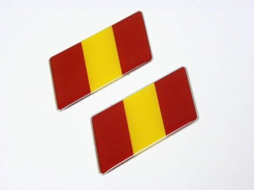 SPAIN ESPANA NATIONAL BANDERA FLAG BADGE EMBLEMS CAR
