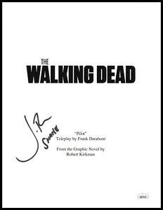 Jon Bernthal Autograph Signed Script Cover - The Walking Dead (JSA COA)
