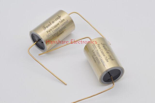 1pc 1.0uf 630V Denmark JENSEN pure copper foil aluminum tube capacitor