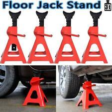4x3 Ton Axle Stands Lifting Capacity Stand Heavy Duty Car Caravan Floor Jack 4WD