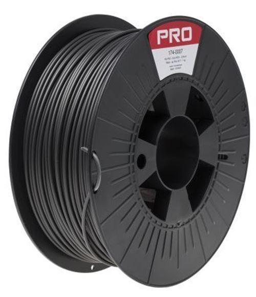 RS PRO 2.85mm Black PLA 3D Printer Filament, 1kg
