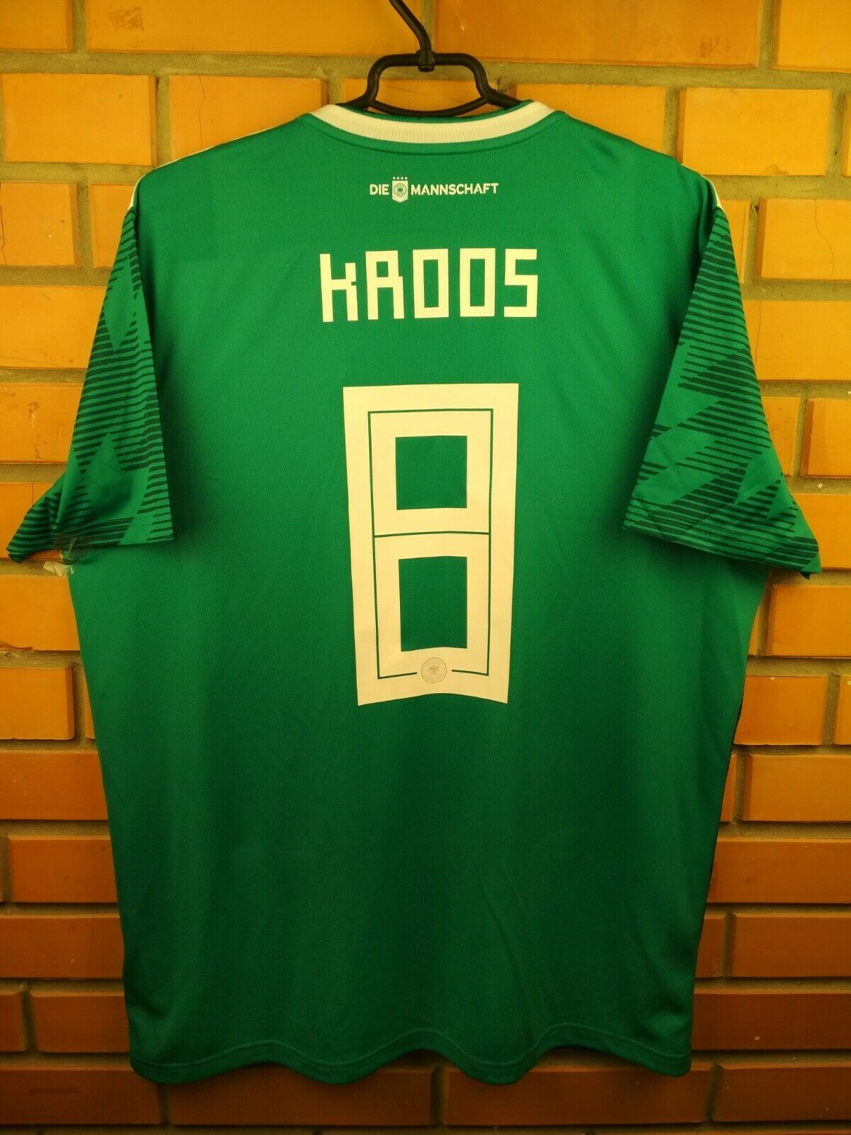 Kroos Geruomoy jersey XL 2019 away shirt BR3144 soccer footbtutti Adidas