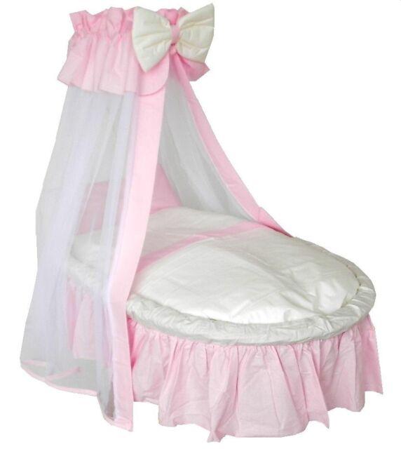 Matratze Evelin rosa inkl Textil Stubenwagen Ausstattung
