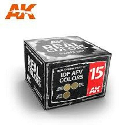 IDF AFV colores akrcs015 AK Real Colores 3