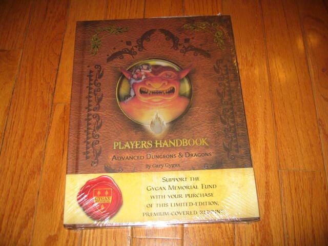 AD&D D&D primera edición jugadores Manual Premium reimpresión Ed SW