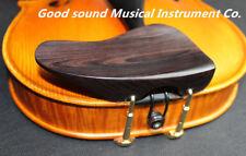 1pcs Natural Color Ebony Violin Chinrest Ear Shape 4/4 Chin Rest