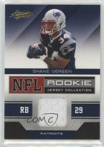 2011 Absolute Memorabilia NFL Jersey Collection Shane Vereen #30 Rookie