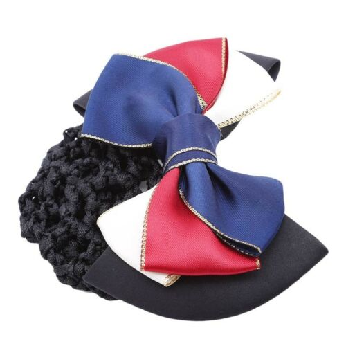 Noeud infirmière hôtesse de Cheveux Tissage Net Pocket Coiffure épingle à cheveux Ornements