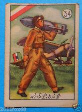 figurines stickers cromos figurine v.a.v. vav 34 la guerra nostra 1942 aviazione