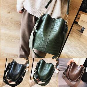 Damentasche-Schultertasche-Handtasche-Shopper-Umhaengetaschen-Groesse-Kapazitaet-F