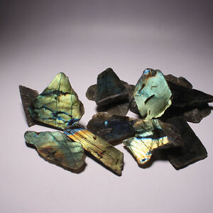 Nature-039-s-Bling-Bulk-Wholesale-Lot-Labradorite-1-2lb-Very-High-Flash