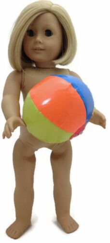 """Inflatable Beach Ball made for 18/"""" American Girl Doll Clothes"""