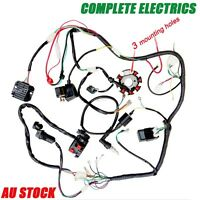 Quad Wiring Harness 250cc Chinese Complete Electrics Start Loncin Zongshen Lifan