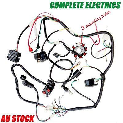 loncin 250 atv wiring diagram quad wiring harness 250cc 200cc complete electrics start loncin  quad wiring harness 250cc 200cc