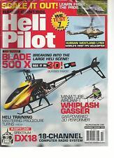 RADIO CONTROL HELI PILOT, DECEMBER / JANUARY, 2013 (BREAKING INTO THE LARGE HELI