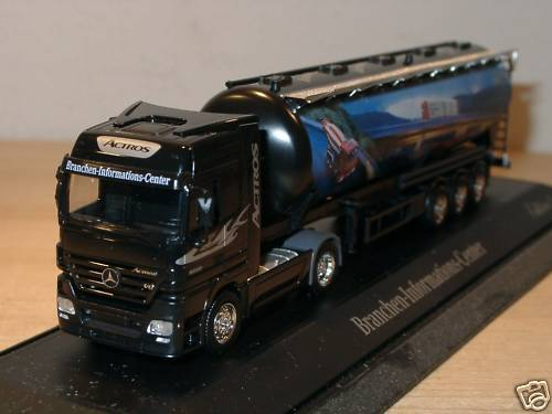 Herpa Mercedes Actros industry-Info Center Edit .3, Silo-PC - 1 87