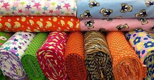 PRINTED-FLEECE-FABRIC-polar-fleece-all-ANTI-PILL-washable-fabric-kids-designs