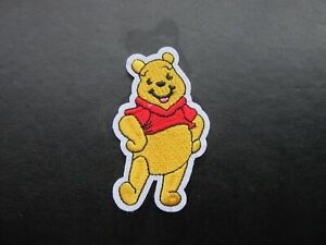 WINNIE THE POOH IRON ON BADGE SEW ON PATCH