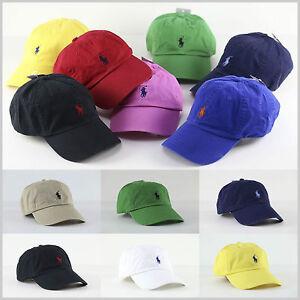 BNWT POLO by Ralph Lauren Pony Baseball Golf Cap Hat One Size Unisex ... 6c70a3f542d