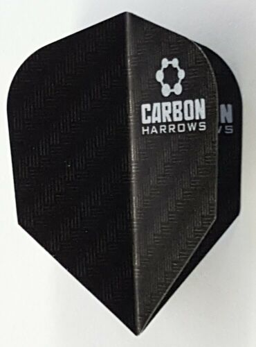 Harrows Carbon Black Standard Flights