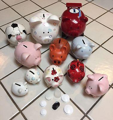 """Piggy Bank Plug For 1 1//4"""" Hole"""