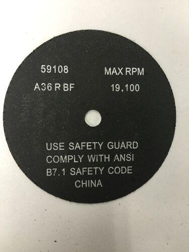 "QTY:10 Aluminum Oxide Fast Cut Off Wheels  4/""x1//16/""x3//8/"" 89014 FREE SHIPPING"
