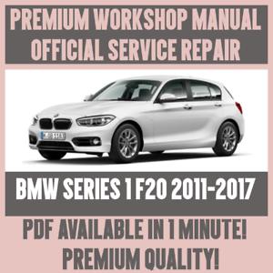 workshop manual service repair guide for bmw 1 series f20 2011 rh ebay com BMW Auto Repair Manuals 2004 BMW 745Li Repair Manuals
