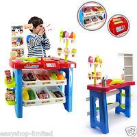 40pcs Supermarket Children Desert Store Role Play Gift Shop Xmas Accessories Set