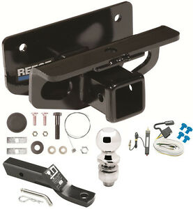 complete trailer hitch package w wiring kit fits 2003. Black Bedroom Furniture Sets. Home Design Ideas