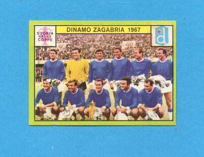 RACING 1967-STORIA COPPE-Recuperata PANINI CALCIATORI 1968//69-Figurina