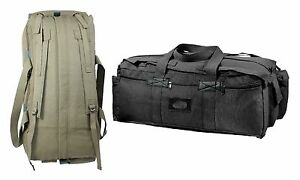 f362eefaf6 Image is loading Tactical-Duffle-Bags-Mossad-Style-Canvas-Gear-Equipment-