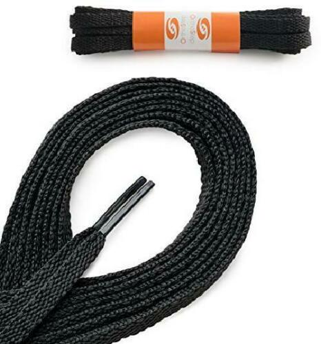 OrthoStep Flat Dress Shoelaces 2 Pair Pack Made in the USA
