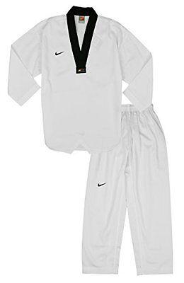 lente Estadístico longitud  Nike Men's Tae kwon do Taekwondo Game Uniform, White / Black | eBay
