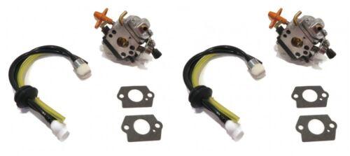 2 Carburetor glucides pour Stihl 4180-120-0610 4180-120-0611 4180-120-0613 Tondeuse