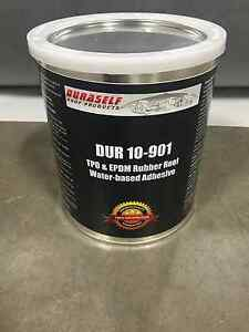 Image Is Loading RV Rubber Roof Adhesive Duraself Gallon Water Based