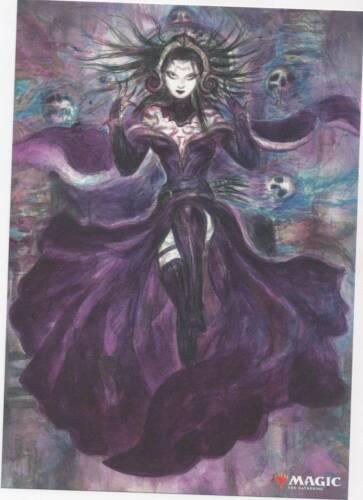 Alternate Liliana Art Print MTG Magic Amano WAR of the Spark Poster B5 Japan