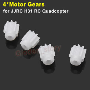 4PCS Plastic Motor Gear Gearsets for JJRC H31 RC Quadcopter Drone Spare Parts