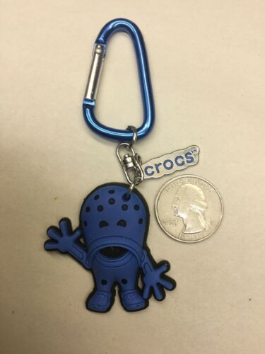CROCS Croslite Guy Key Chain Blue Advertising Figurines Action Figure Toys