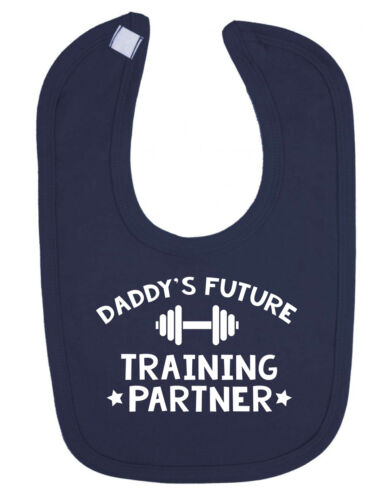 Daddy/'s Future Training Partner Newborn Toddler Baby Bib