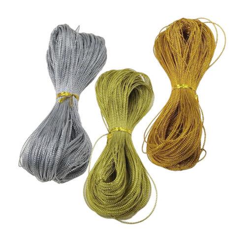 300 Yards 1mm  Cord Silk Schmuck Faden Craft String für Halskette