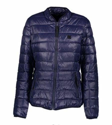 Puffer Nouveau Moyen Blue Lagerfeld Taille Manteau Top Karl Veste 7pEq8wA