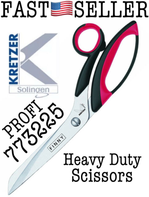 "Kretzer Finny 73225 10/"" HD Professional Tailor/'s Sewing Shears Carpet Scissors"