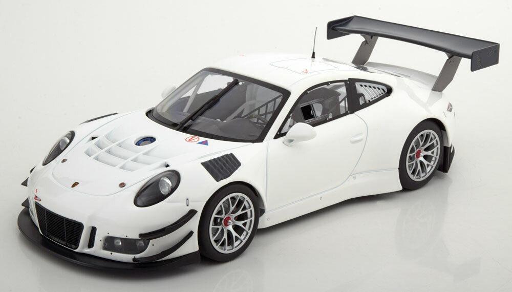 1 18 Minichamps Porsche 911 991 GT3 R Plain corpo Version 2016 bianca